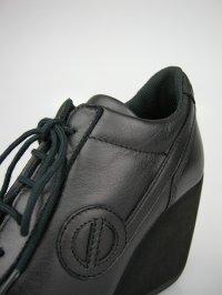 画像2: 【11月30日まで】【10%OFF】ノーネーム/no name FLYER J LUCAS LEATHER スニーカー 靴 ブラック