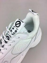 画像2: 【11月30日まで】【10%OFF】ノーネーム/NO NAME NAME NITRO JOG NYLON ホワイト  靴 スニーカー