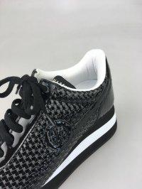 画像2: ノーネーム/NO NAME NAME SPEED JOG PU PATENT ブラック  靴 スニーカー【30%OFF】