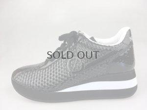 画像1: ノーネーム/NO NAME NAME SPEED JOG PU PATENT ブラック  靴 スニーカー【30%OFF】 (1)